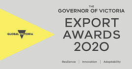 Governor of Victoria Export Awards 2020.