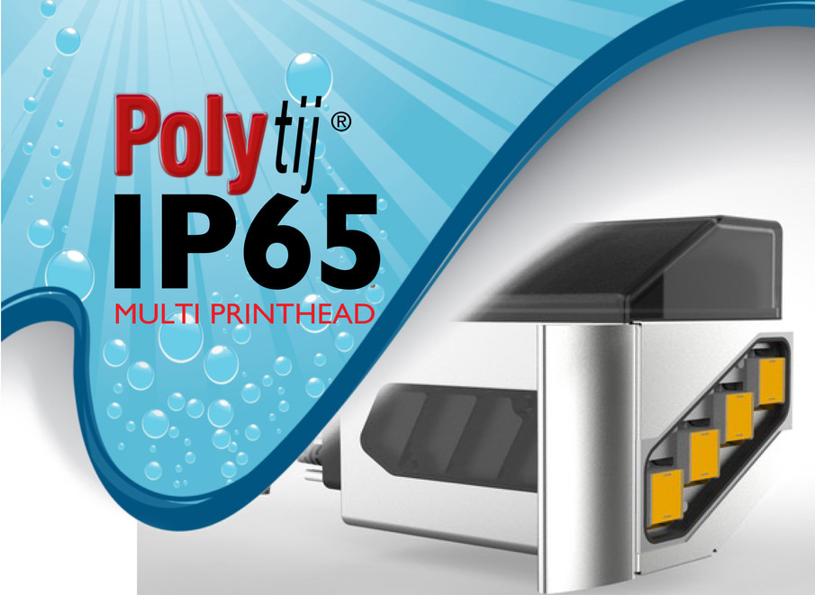 NEW POLYtij ® HP IP65 Multi-head printer