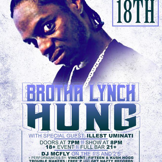 Brotha Lynch Hung Live in Yakima, WA