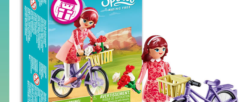 Spirit PLAYMOBIL 70124 Maricela with Bicycle