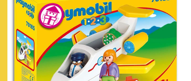 PLAYMOBIL 70185 Passenger Airplane