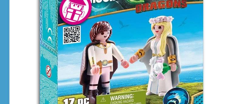 Dragons PLAYMOBIL 70045 Astrid & Hicks