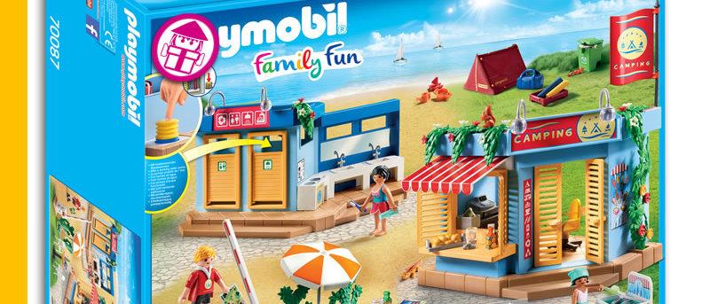 PLAYMOBIL 70087 Large Campsite