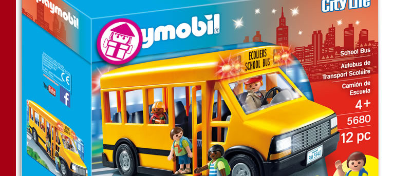 PLAYMOBIL 5680 School Bus
