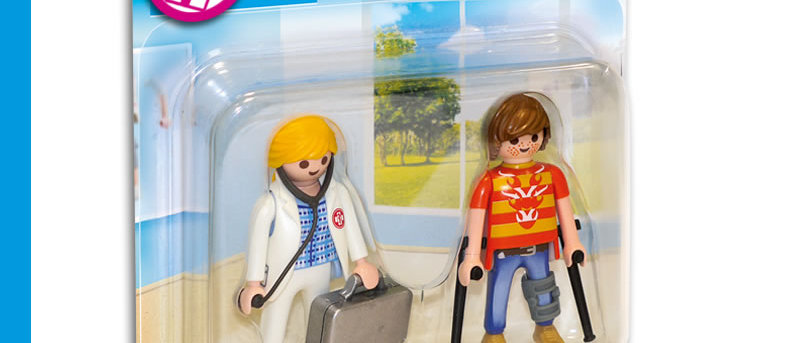 PLAYMOBIL 70079 Duo Pack Doctor and Patient
