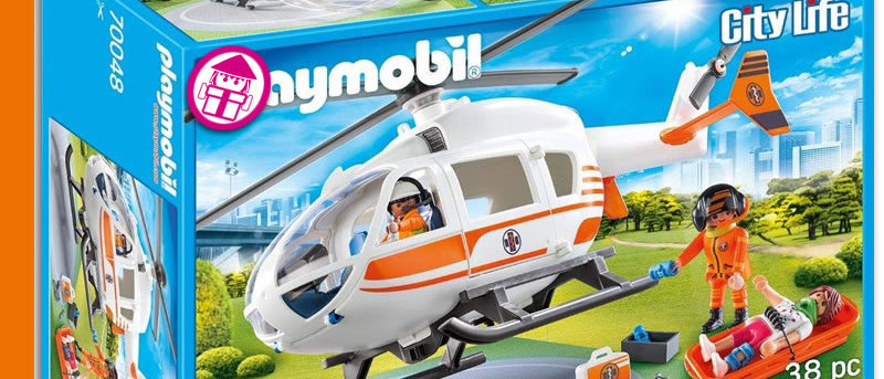 PLAYMOBIL 70048 Helicopter