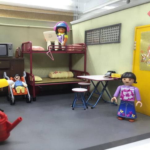 PLAYMOBIL x Diorama Display in store.