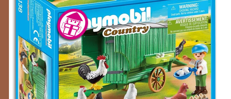 PLAYMOBIL 70138 Mobile Chicken House