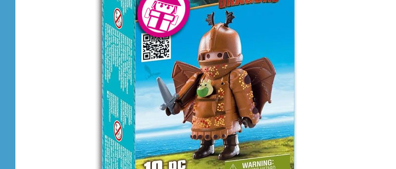 Dragons PLAYMOBIL 70044 Whalebone with Flight Suit