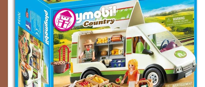 PLAYMOBIL 70134 Farm Market Mobile Van