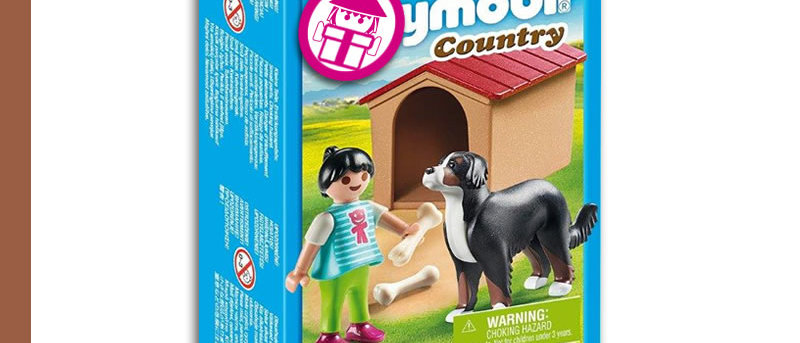 PLAYMOBIL 70136 Dog with Booth