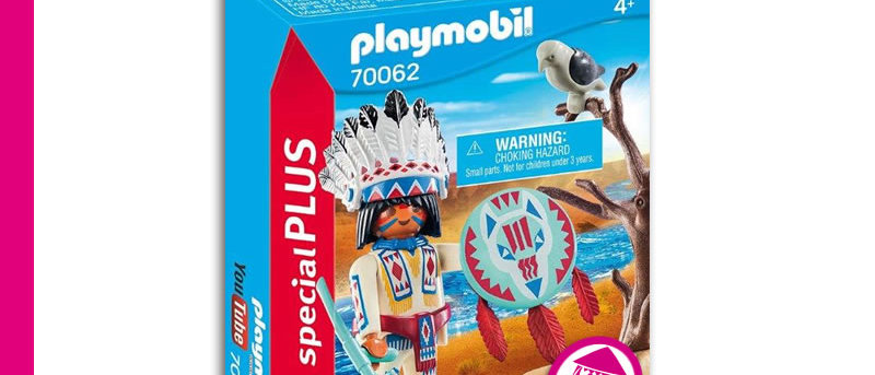 PLAYMOBIL 70062 Indian Chief