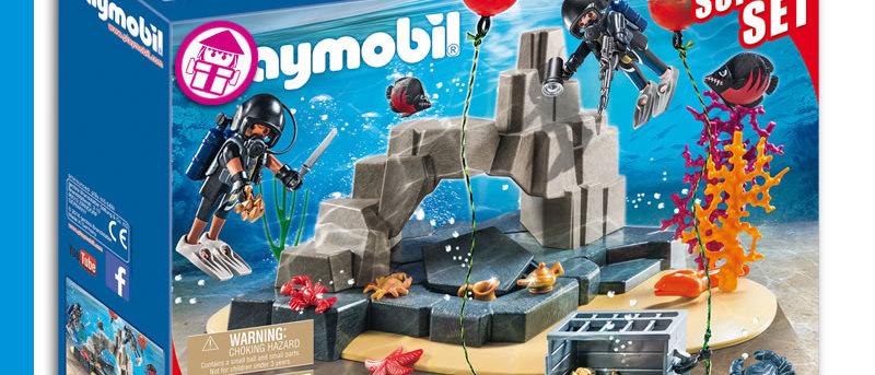 PLAYMOBIL 70011 Super Set - SEK Divers