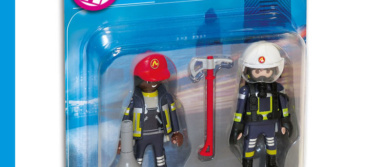 PLAYMOBIL 70081 Duo Pack Rescue Firefighters