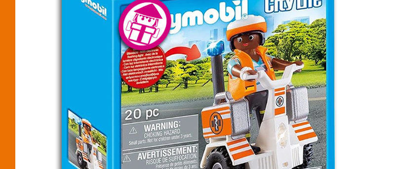 PLAYMOBIL 70052 Segway for Rescue