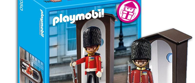 PLAYMOBIL 9050 Royal Guard & Sentry Box
