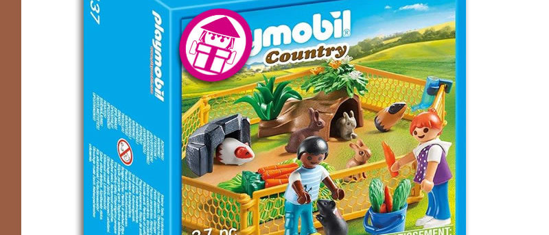 PLAYMOBIL 70137 Cage for Small Animals