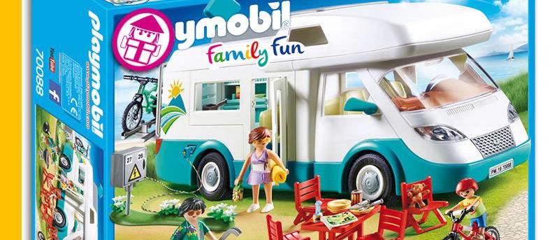 PLAYMOBIL 70088 Family Motorhome