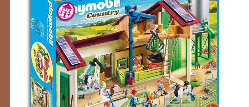 PLAYMOBIL 70132 Farm Silo