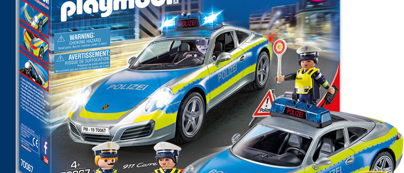 PLAYMOBIL 70067 Porsche 911 Carrera 4S Police