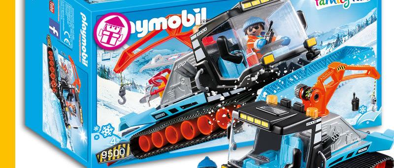 PLAYMOBIL 9500 Snow Caterpillar Truck