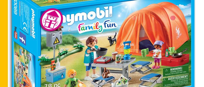 PLAYMOBIL 70089 Family Camping