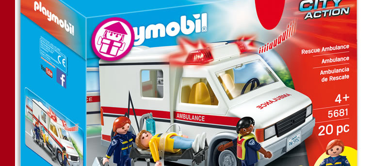 PLAYMOBIL 5681 Rescue Ambulance