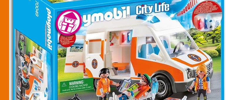 PLAYMOBIL 70049 Ambulance