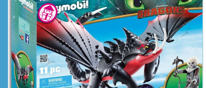 Dragons PLAYMOBIL 70039 Deathgripper with Grimmel
