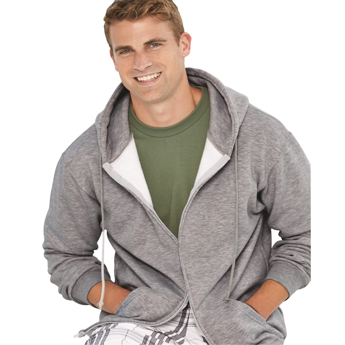 ADULT FULL ZIP SS