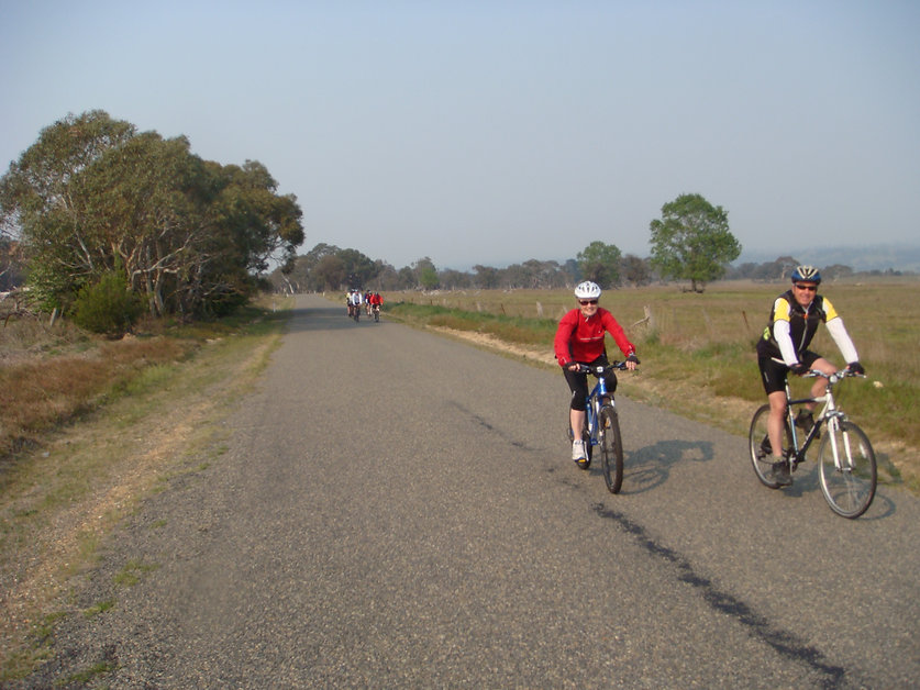 Cycling In Southern Tablelands