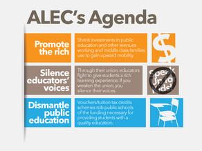 Exposing ALEC's Agenda to Defund and Dismantle Public Education