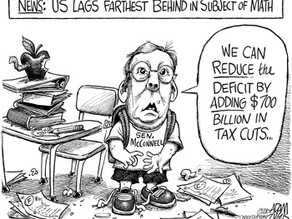 Cost Of Tax Cuts For America's Rich Exceeds Value Of Budget Cuts