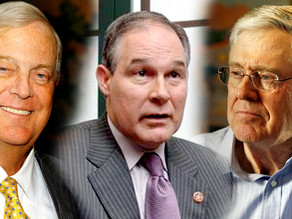 Donald Trump's EPA Pick Urged To Come Clean On Ties To Secretive Koch-Funded Group