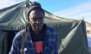 Julius Page a 61-year-old veteran: 'We have the experience of standing in the face of adverse conditions.'