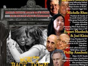 """Won't Back Down"" Film Pushes ALEC Parent Trigger Proposal"