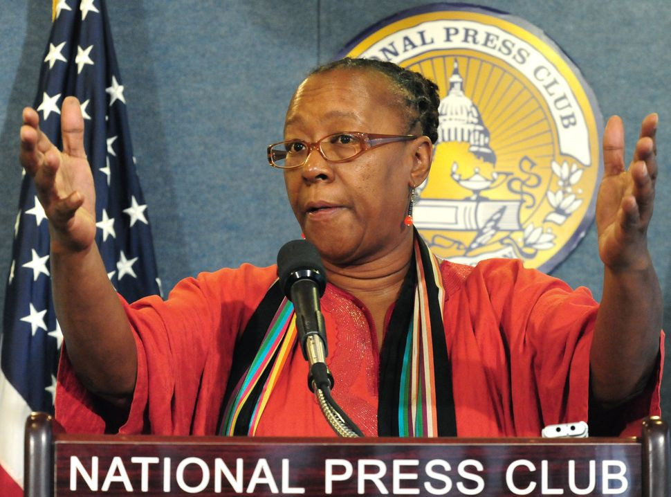 CEO Bertha Lewis said ACORN could have weathered the storm if Democrats hadn't turned their backs.