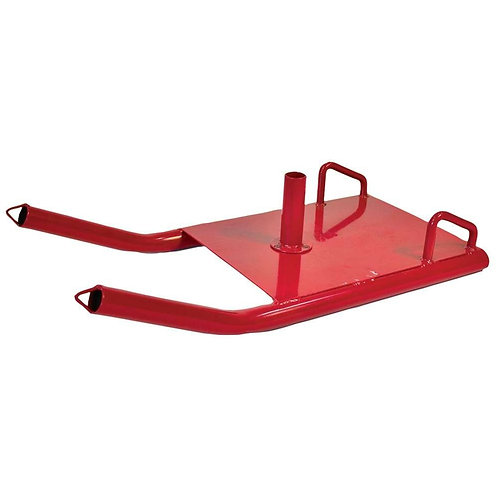 Power Sled with Waist Belt and Leads
