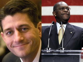 Paul Ryan, Herman Cain Push For Tax Increases On Middle Class