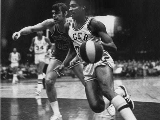 Roger Brown,  former Indiana Pacer during the ABA days of the basketball league.  File Photo 1970's