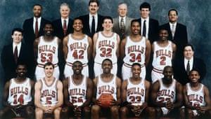 The 1990-91 Chicago Bulls