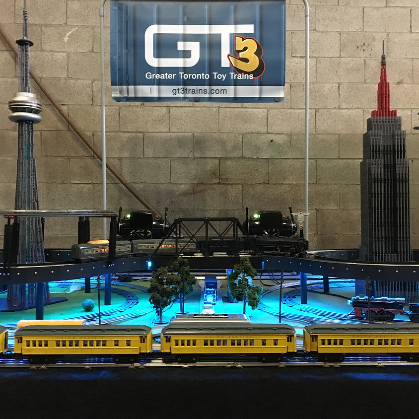 CANCELLED Toronto Roundhouse Train Show - Day 1