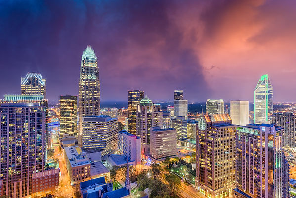 charlotte-north-carolina-skyline-DXA876S