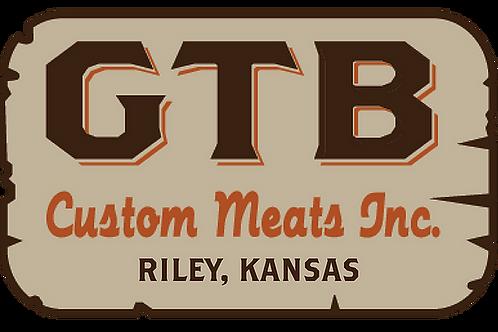 GTB Custom Meats Locker Reservation
