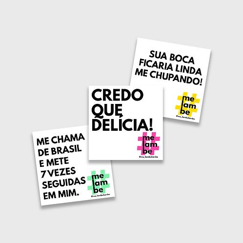03 ADESIVOS | #MELAMBE