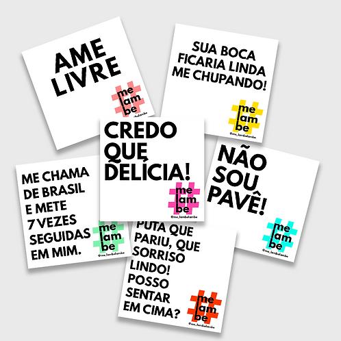 06 ADESIVOS | #MELAMBE