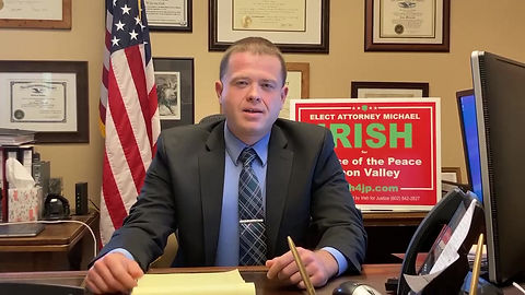 Sheriff Joe Arpaio supports Attorney Michael Irish for Justice of the Peace