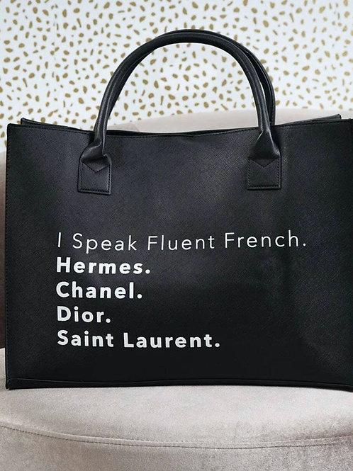 Fluent French - Black
