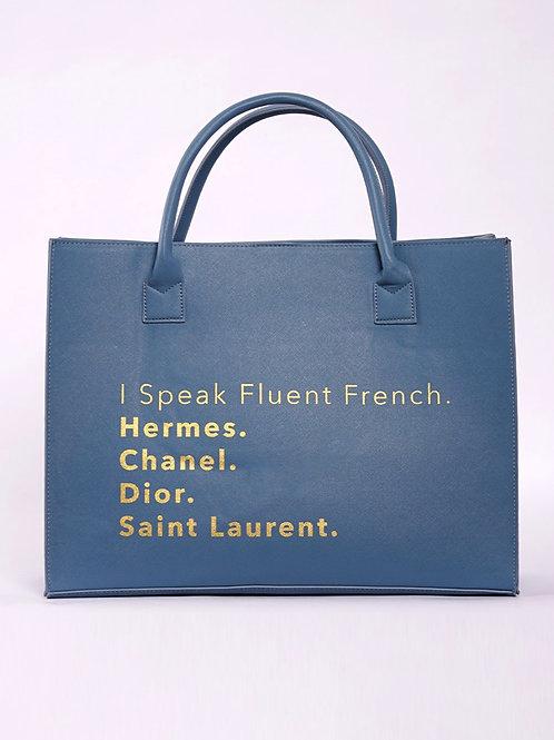 Fluent French - Bleu