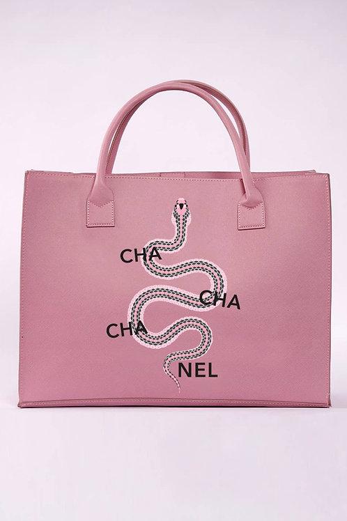 Cha Cha Cha Tote - Pink